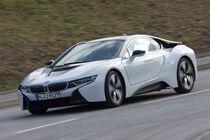 BMW i8, Frontansicht