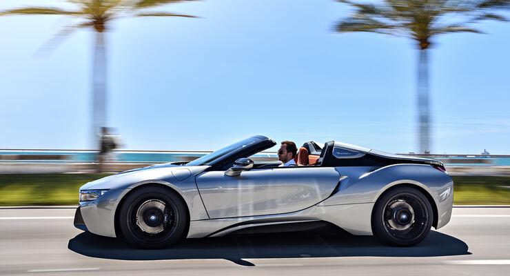 neuer bmw i8 roadster 2018 fahrbericht daten preise auto motor und sport. Black Bedroom Furniture Sets. Home Design Ideas