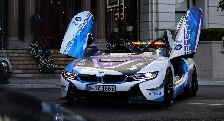 BMW i8 Roadster Formel E Safetycar