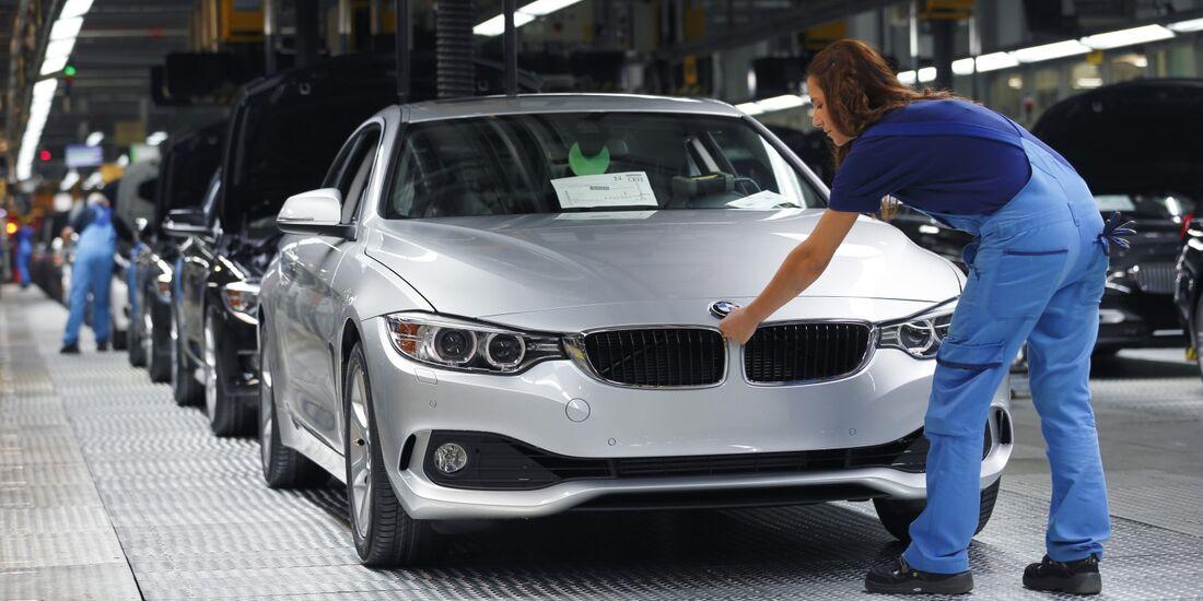 BMW setzte 2013 insgesamt 375.782 Fahrzeuge in den USA ab.
