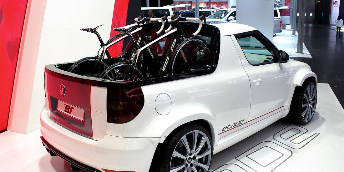 BT Design Skoda Yeti Pickup