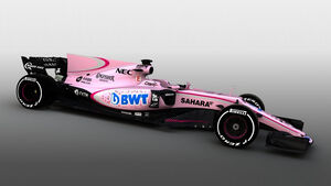 BWT - Force India - Rosa - 2017