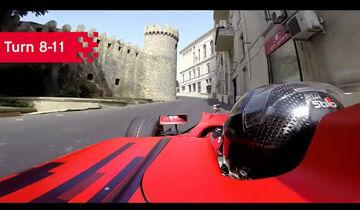 Baku City Circuit - Aserbaidschan - GP3 - Onboard - Screenshot