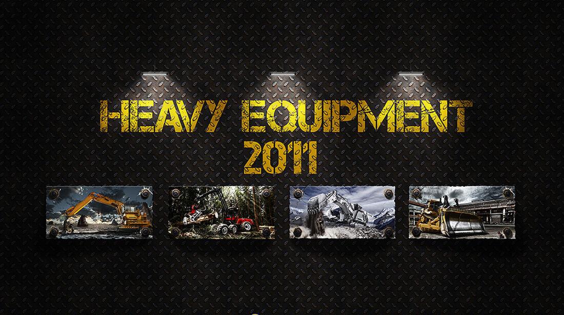 Baumaschinen-Kalender, Heavy Equipment-Kalender 2011
