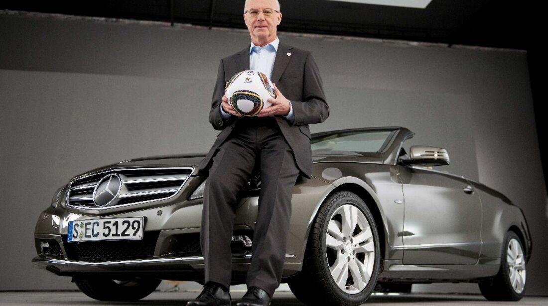 Beckenbauer Mercedes