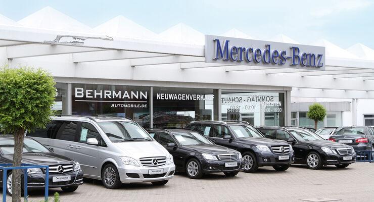 mercedes werkst ttentest 2012 behrmann automobile gmbh. Black Bedroom Furniture Sets. Home Design Ideas
