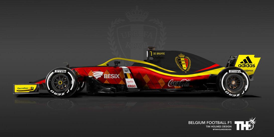 Belgien - F1-Autos - Fußball-WM 2018