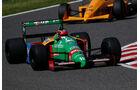 Benetton B188 - Aguri Suzuki - Klassiker-Parade - GP Japan 2018