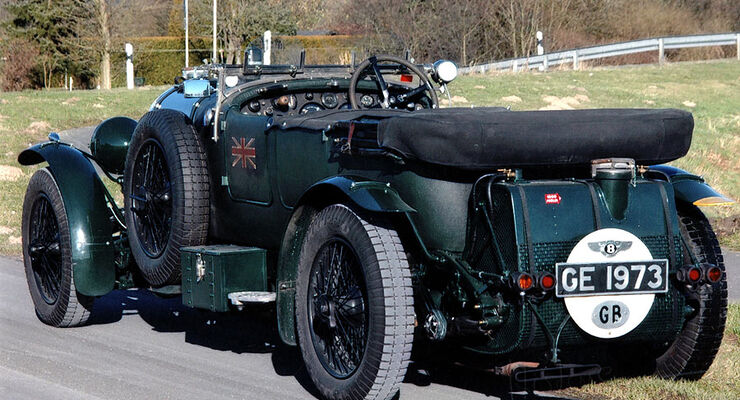 Bentley 4 1/2 Litre Open Tourer