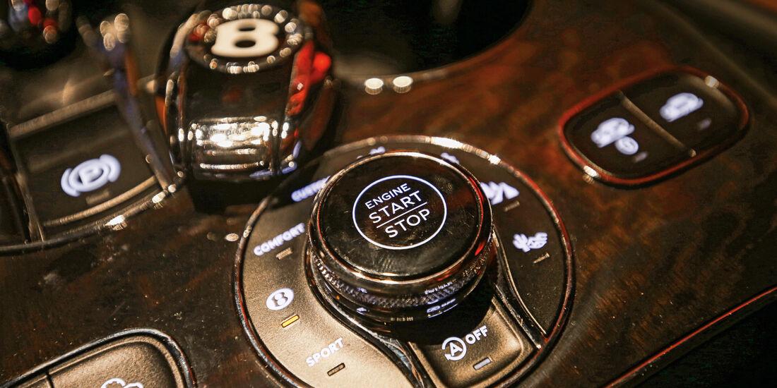 Bentley Bentayga, Bedienelemente