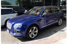 Bentley Bentayga - Carspotting - GP Abu Dhabi 2016
