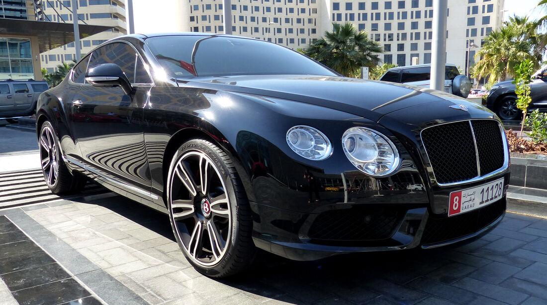 Bentley Continental - F1 Abu Dhabi 2014 - Carspotting