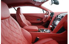 Bentley Continental GT, Cockpit, Innenraum, Vordersitze, Detail