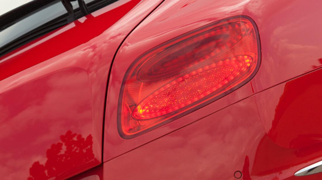 Bentley Continental GT, Heck, Auspuff