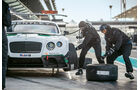 Bentley Continental  GT3, Radwechsel