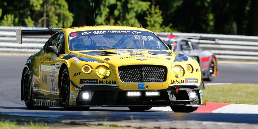 Bentley Continental GT3 - Startnummer #38 - 2. Qualifying - 24h-Rennen Nürburgring 2017 - Nordschleife