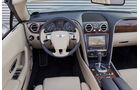 Bentley Continental GTC, Cockpit, Lenkrad