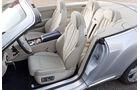 Bentley Continental GTC, Innenraum, Ledersitze