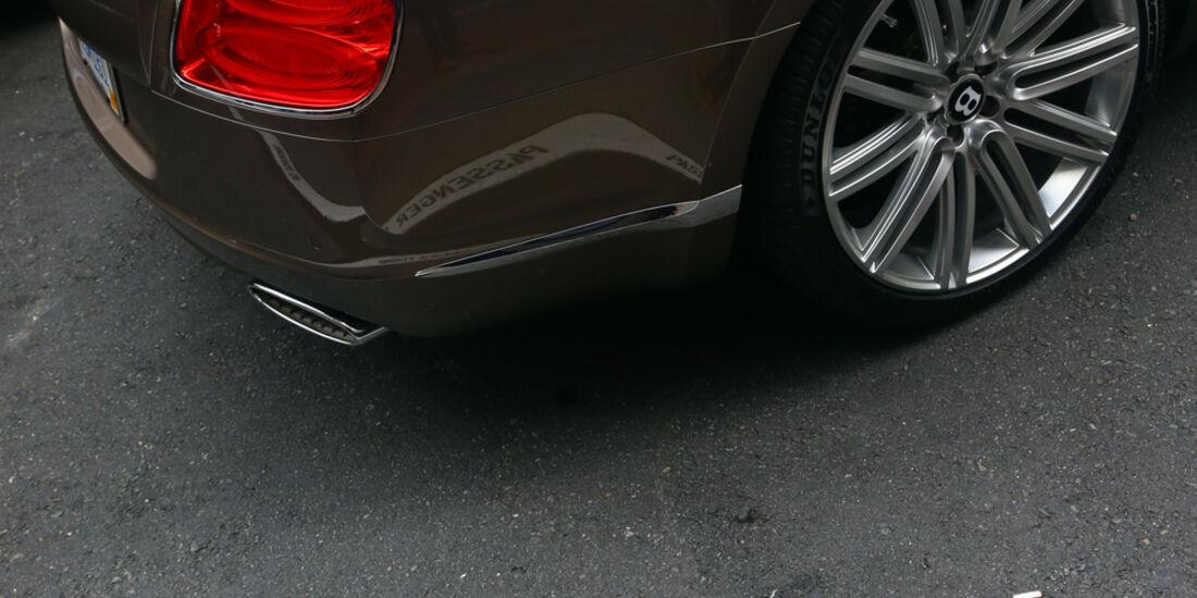 Bentley Continental GTC Speed, Heckleuchte, Rad, Felge