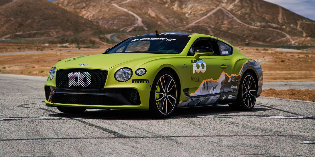Bentley Continental Pikes Peak 2019