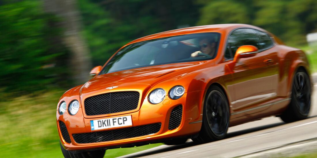 Bentley Continental Supersports, Front, Frontansicht