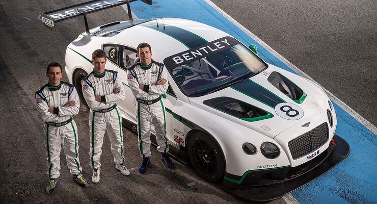 Bentley GT3 Fahrerteams