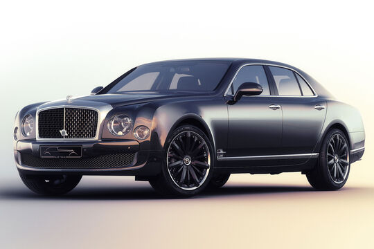 Bentley Mulsanne Blue Train