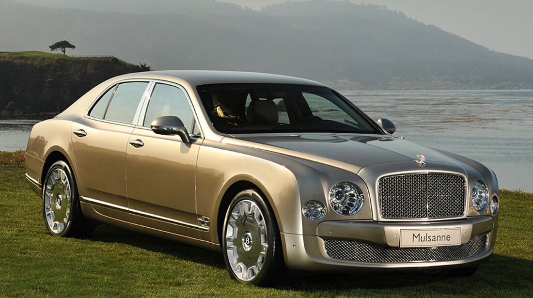 Bentley Mulsanne Pebble Beach 2009