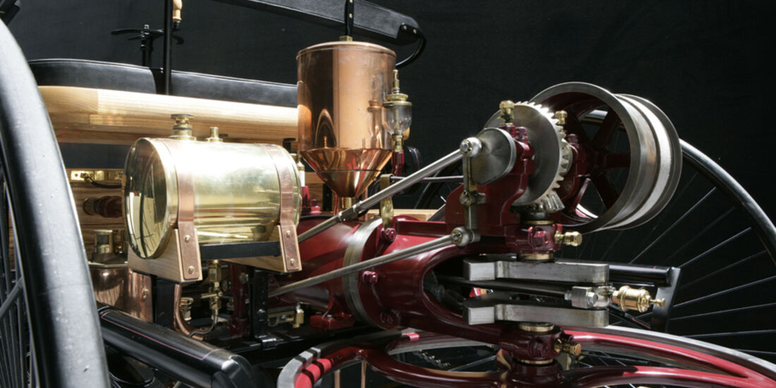 Benz Patent-Motorwagen, Motor