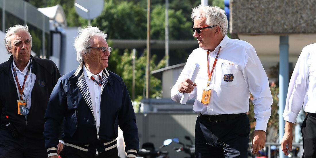 Bernie Ecclestone & Charlie Whiting - Formel 1 - GP Deutschland - 29. Juli 2016