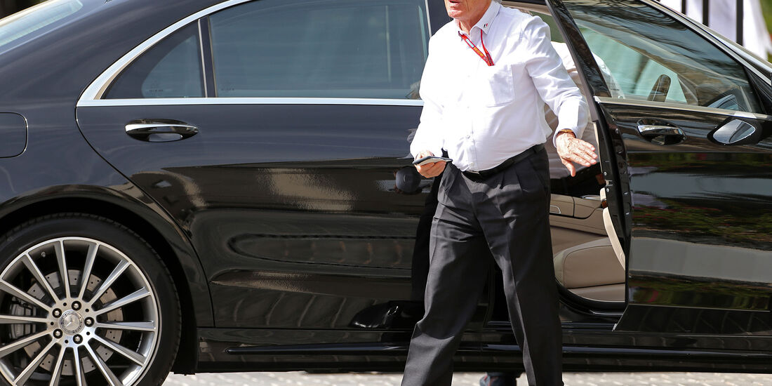 Bernie Ecclestone - Formel 1 - GP Abu Dhabi - 25. November 2016