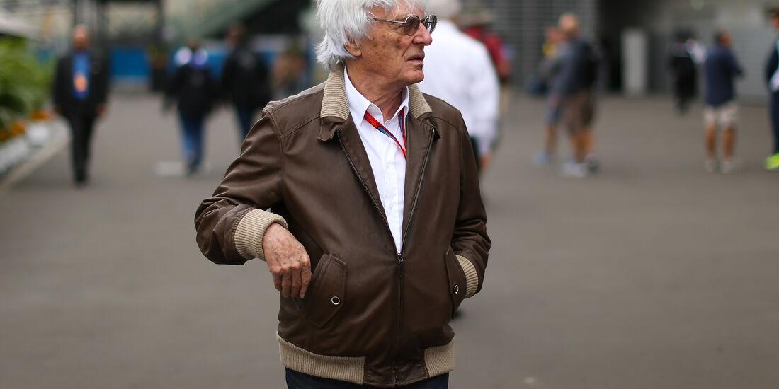 Bernie Ecclestone - Formel 1 - GP Mexiko - 27. Oktober 2016