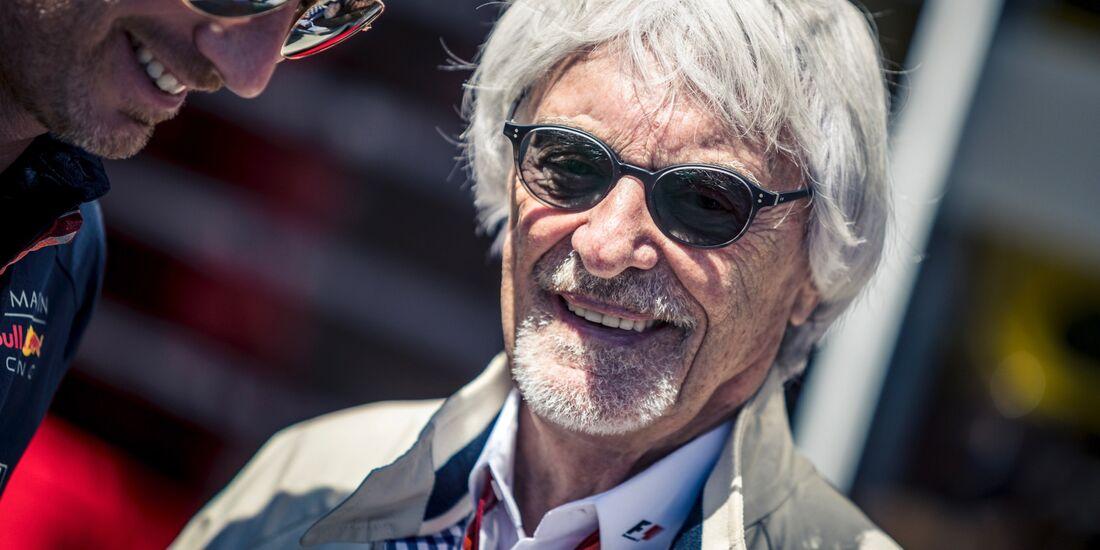 Bernie Ecclestone - Formel 1 - GP Österreich - 1. Juli 2018