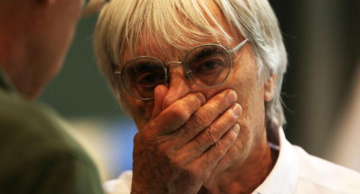 Bernie Ecclestone - Formel 1 - GP Singapur - 22. September 2012