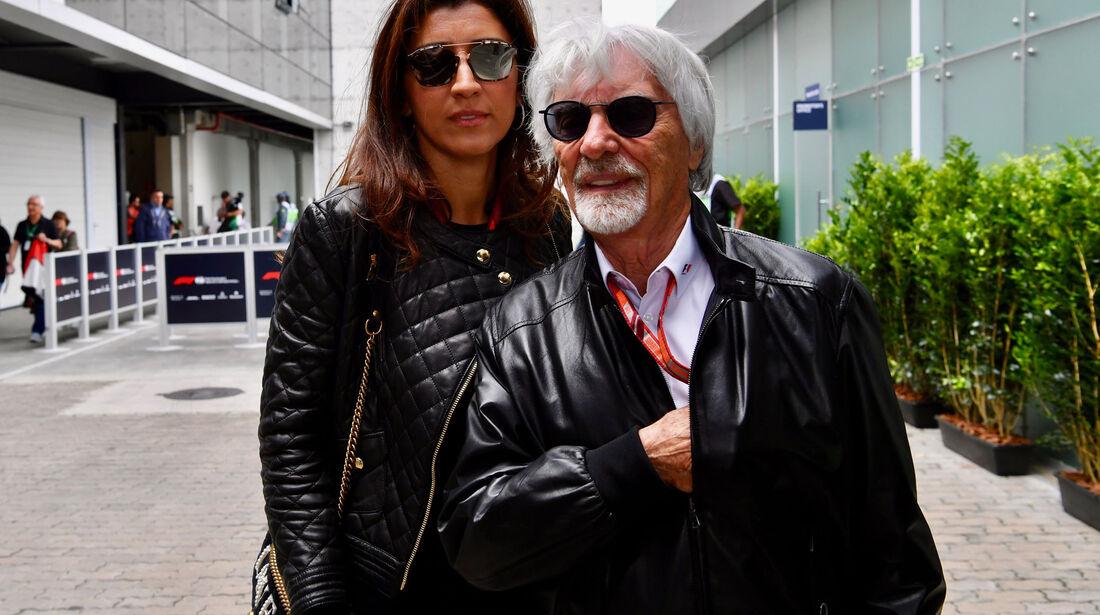 Bernie Ecclestone - GP Brasilien - Interlagos - Formel 1 - Samstag - 10.11.2018