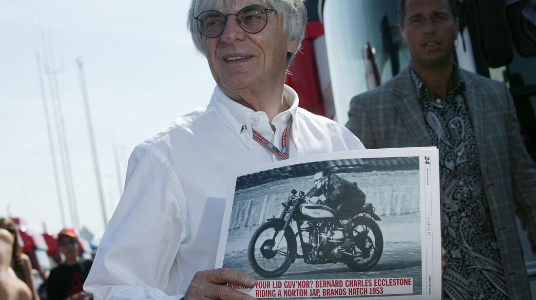 Bernie Ecclestone - GP England 2005 - Silverstone