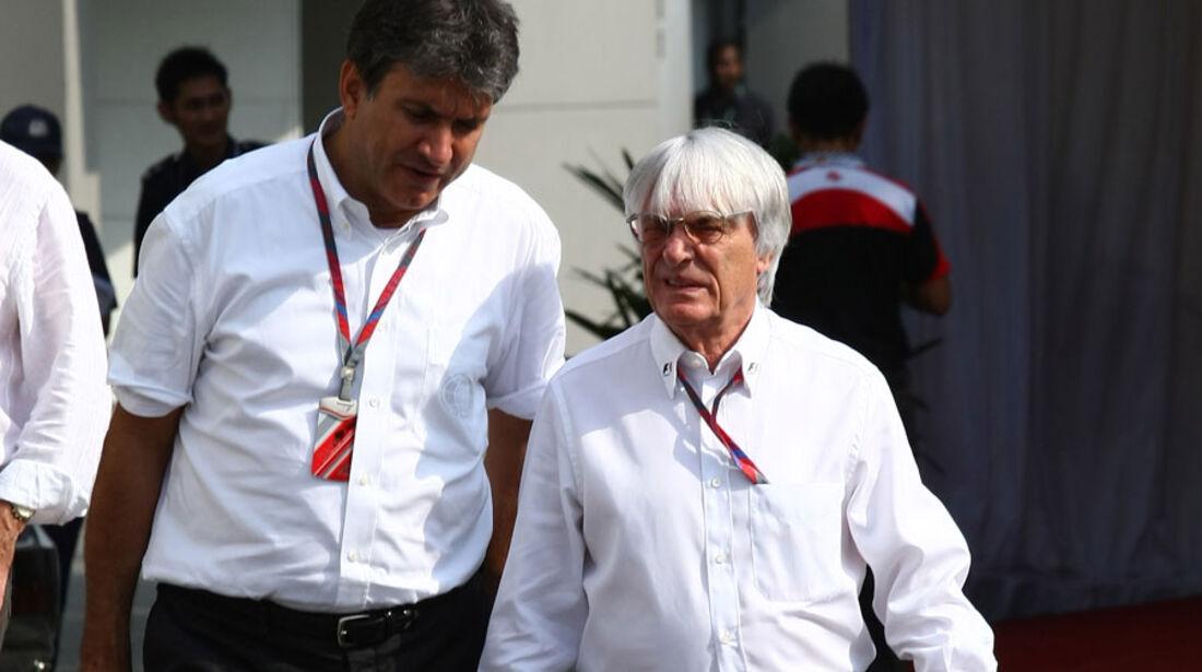 Bernie Ecclestone - GP Singapur - 23. September 2011