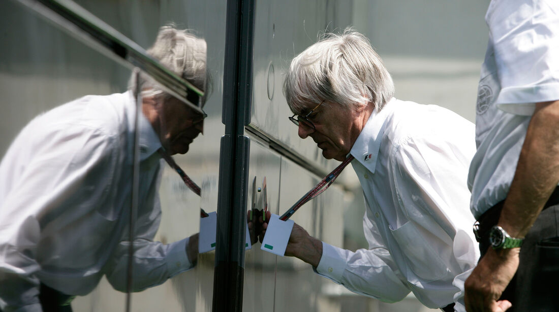 Bernie Ecclestone - GP Spanien 2005