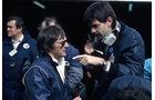 Bernie Ecclestone - Gordon Murray - Brabham - GP Belgien 1982 - Zolder