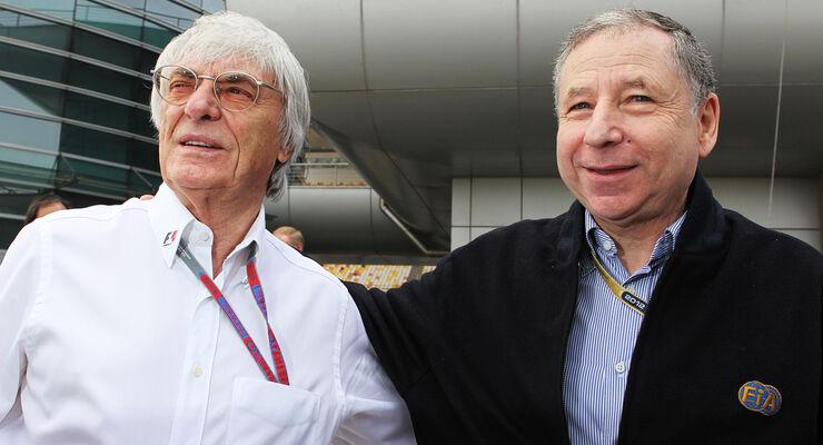 Bernie Ecclestone & Jean Todt 2012
