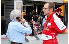 Bernie Ecclestone & Stefano Domenicali - Formel 1 - GP Singapur - 19. September 2013