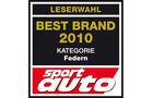 Best Brand 2010 Federn Logo