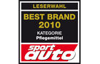 Best Brand 2010 Pflegemittel Logo