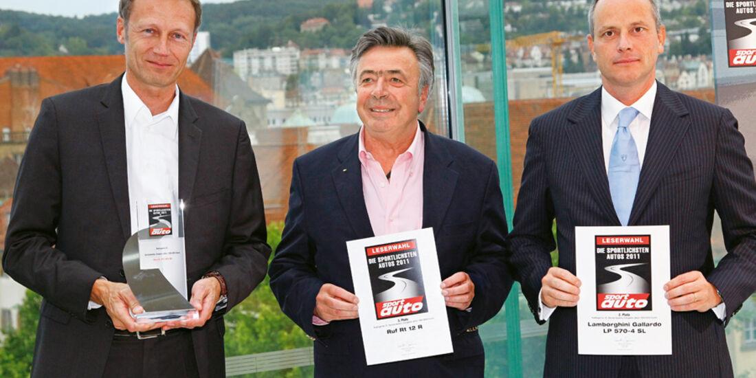 Best Brands, Andreas Preuninger, Raffaello Porro, Alois Ruf