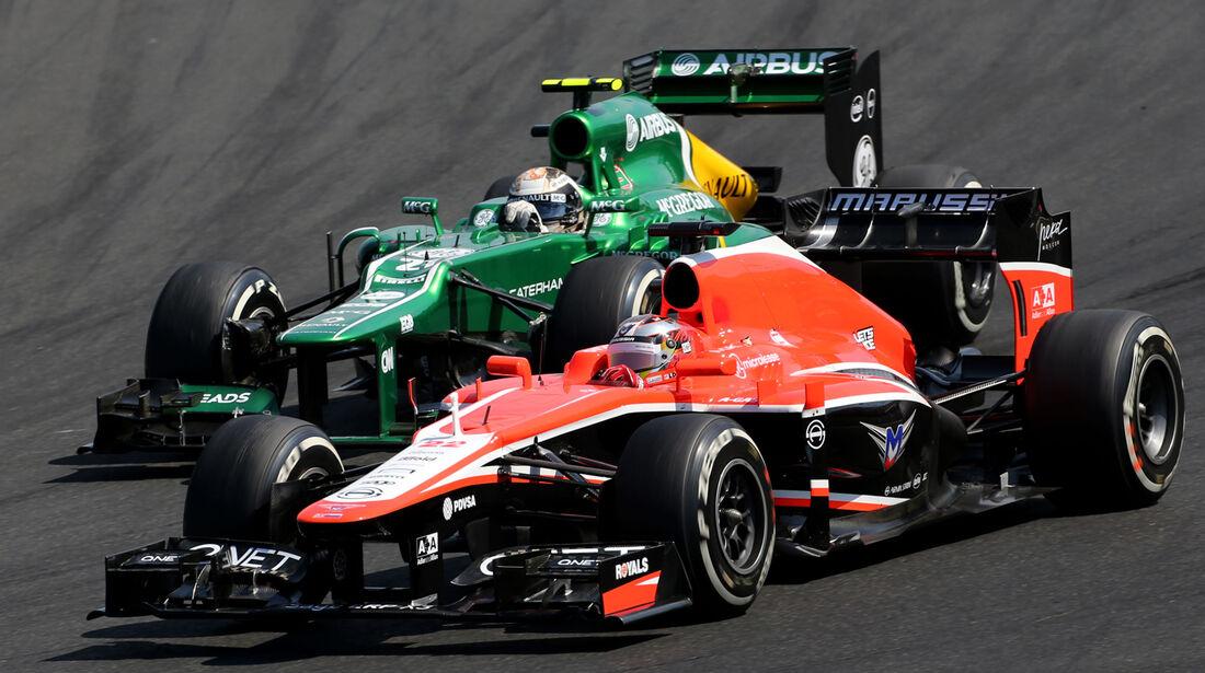Bianchi & Van der Garde - GP Ungarn 2013