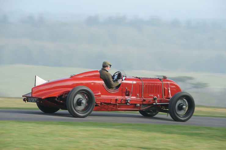 Birkin-Bentley Single-Seater, Seitenansicht