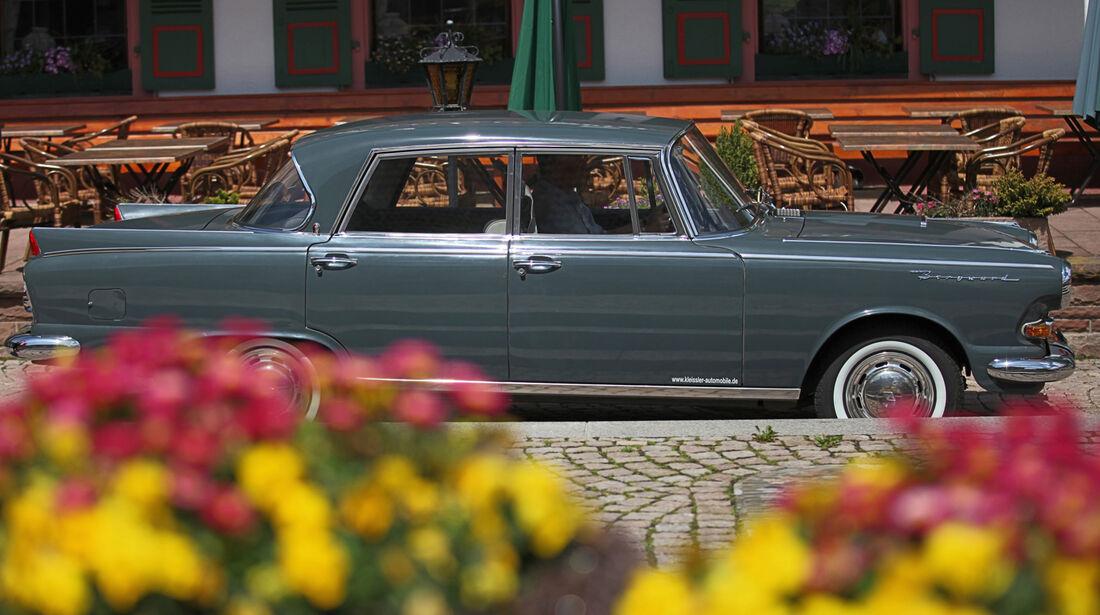 Borgward 2,3 Liter, Seitenansicht