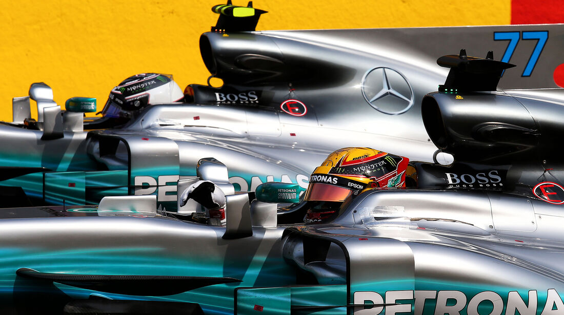 Bottas & Hamilton - Mercedes - Formel 1 - GP Belgien - Spa-Francorchamps - 26. August 2017