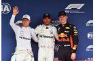 Bottas - Hamilton - Verstappen - GP Japan - Suzuka - Formel 1 - Samstag - 6.10.2018