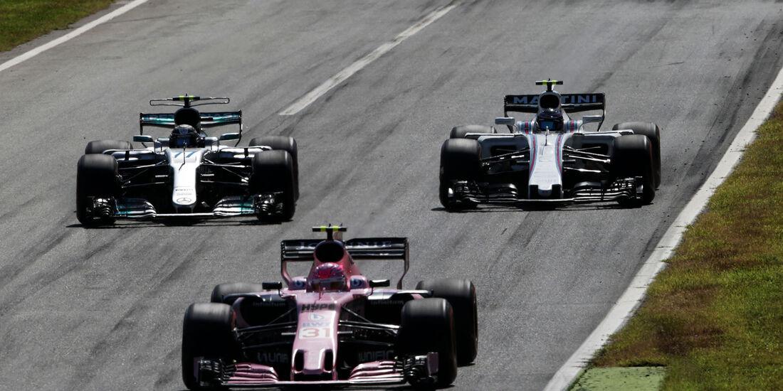 Bottas vs. Stroll - GP Italien 2017